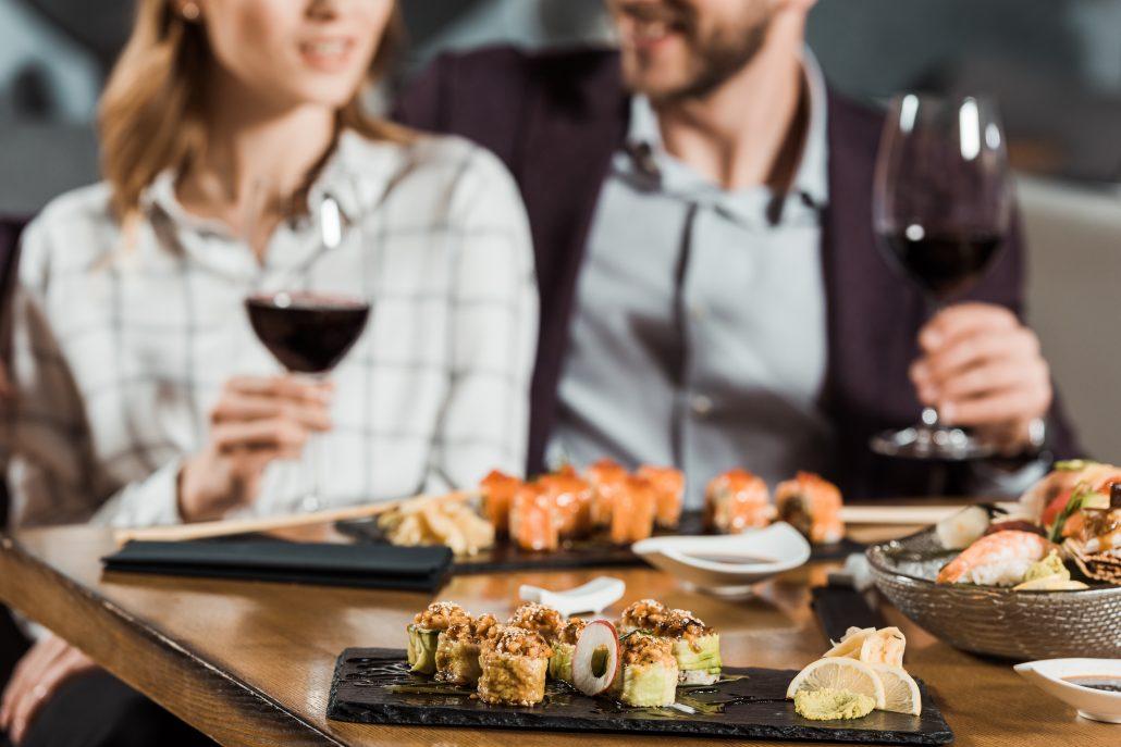 Dégustation Vins-Sushis